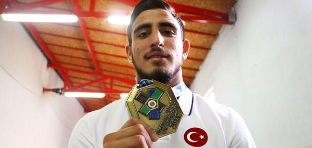 Milli judocu Muhammed Mustafa Koç, hedef büyüttü