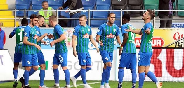 İttfak Holding Konyaspor Rize'de kayıp!