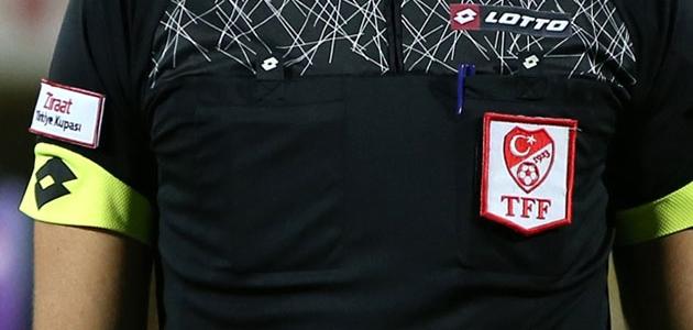 Ziraat Türkiye Kupası 5. tur maçlarını yönetecek hakemler belli oldu