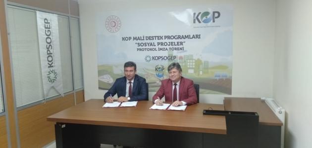 Beyşehir'de ara eleman yetiştirme projesi imzalandı