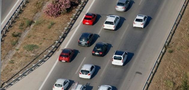 Trafiğe 10 ayda 540 bin 469 aracın kaydı yapıldı