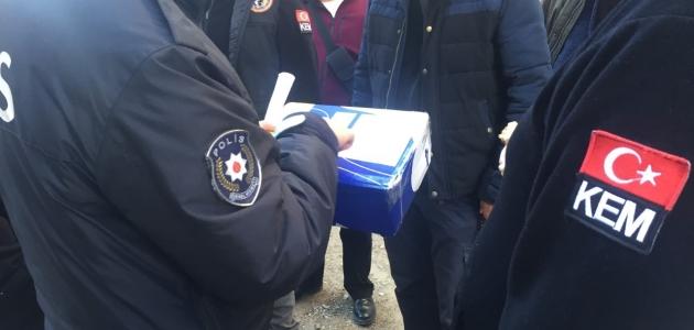 Konya'ya yurtdışından kargo ile gönderilen koliden kokain çıktı