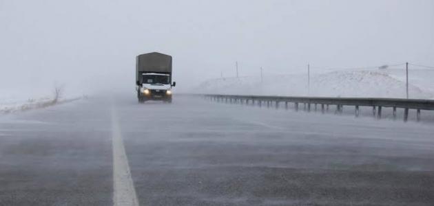Konya'da buzlanmaya dikkat!
