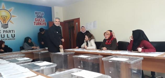 AK Parti Kulu'da delege seçimi