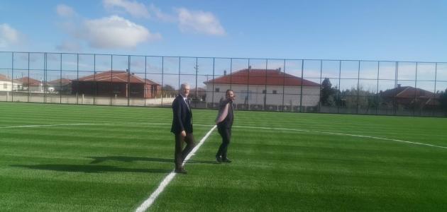 Konya yeni bir spor tesisi daha kazandı
