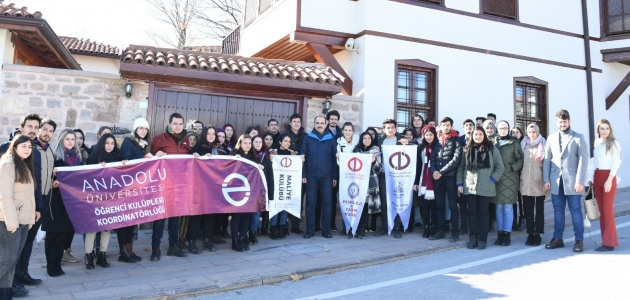 Anadolu Üniversitesi öğrencileri zamanı aşan şehir Konya'da