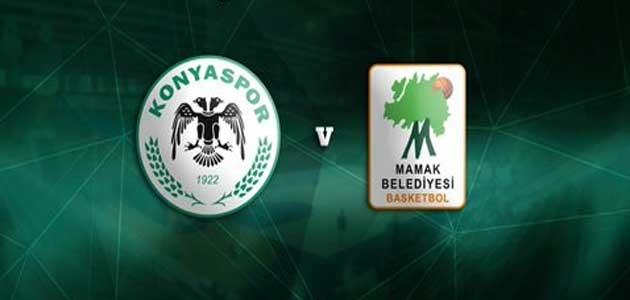 Konyaspor Basket, Mamak Belediyesi'ni mağlup etti