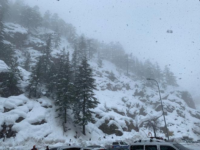 Konya'da kar