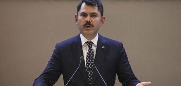 Bakan Kurum: Kanal İstanbul üzerinden birilerinin prim yapmasına müsaade etmeyeceğiz