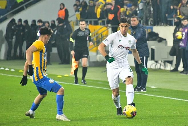 Ankaragücü-Konyaspor maçından kareler