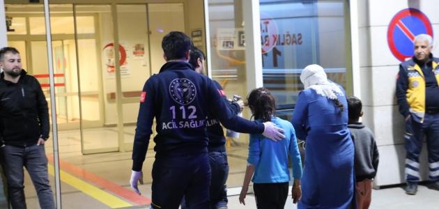 Siirt'te sobadan sızan gazdan zehirlenen aynı aileden 6 kişi hastaneye kaldırıldı