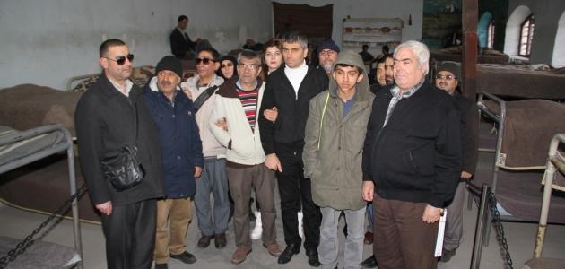 Görme engelliler Ulucanlar Cezaevi Müzesini gezdi