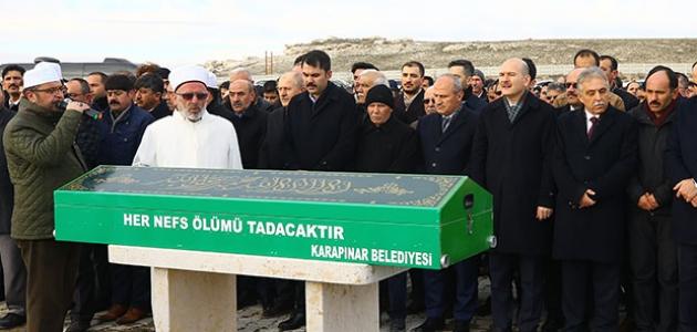 Bakan Kurum'un amcası Konya'da toprağa verildi