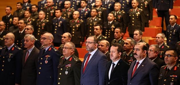Milli Savunma Üniversitesinde mezuniyet töreni yapıldı
