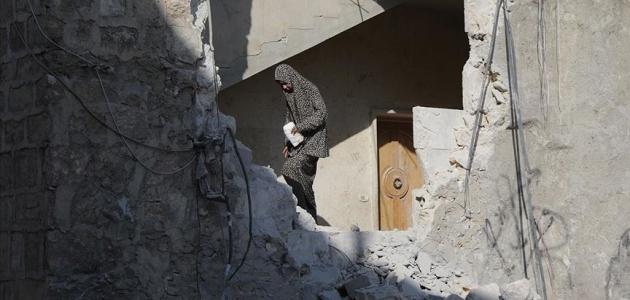 Suriye'nin kuzeyindeki Bab ilçesine hava saldırısı: 1 yaralı