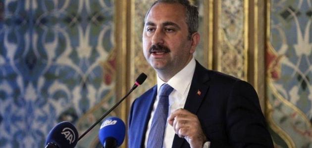 Adalet Bakanı Gül'den Belçika'ya tepki