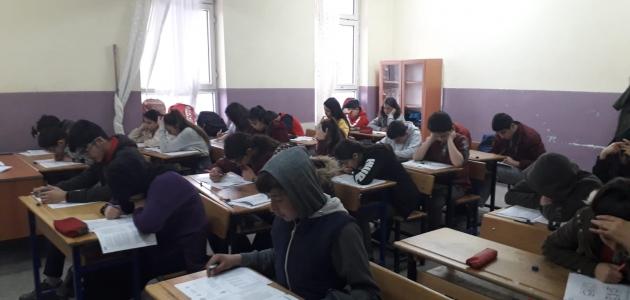 Kulu'da 953 öğrenci deneme sınavına katıldı