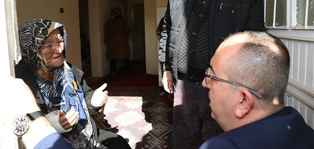 Meram Belediye Başkanı Mustafa Kavuş'tan yangında kızını kaybeden anneye yardım!