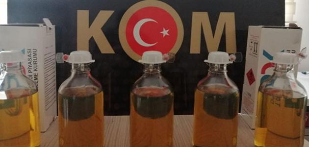 Konya'da kaçak akaryakıta suçüstü