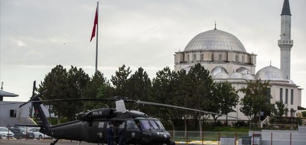Polis havacılık birimine 'operasyonel hazırlık ve bakım performansı' ödülü
