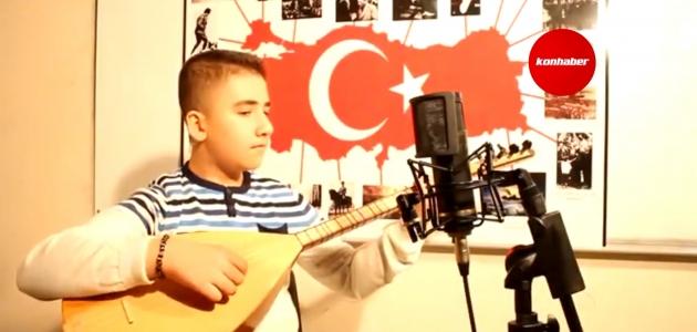 Konya'dan bir öğrenci yarışmada Türkiye birincisi oldu