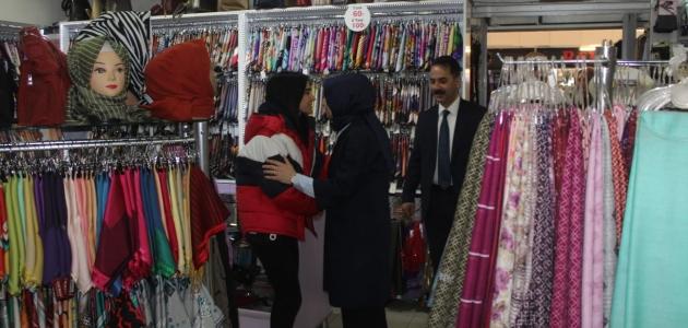 Leyla Şahin Usta'nın Erzincan ziyareti