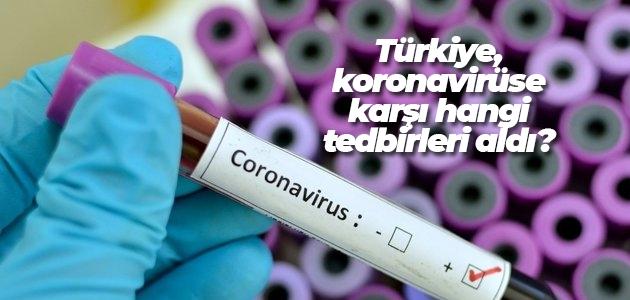 Türkiye, koronavirüse karşı hangi tedbirleri aldı?