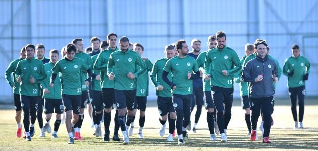 Konyaspor'da Y. Malatyaspor maçı hazırlıkları başladı
