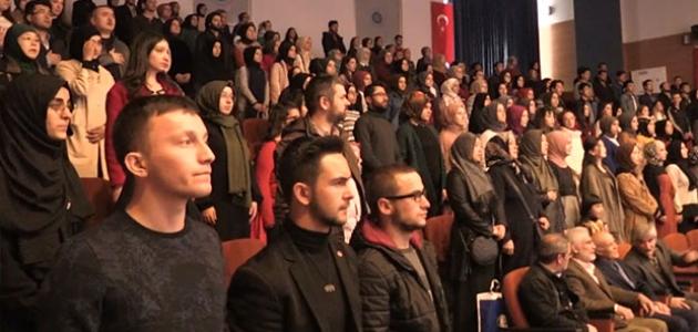 """""""Doğu Türkistan ve Çin İşkencesi"""" konferansı"""