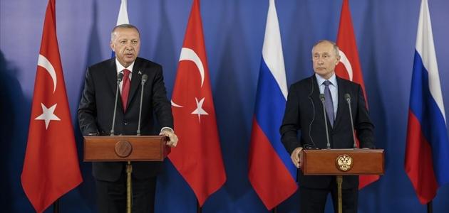 Erdoğan ve Putin yarın Moskova'da görüşecek