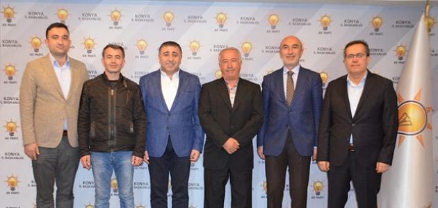 AK Parti Yalıhüyük İlçe Başkanı adayı Yusuf Pişkin oldu