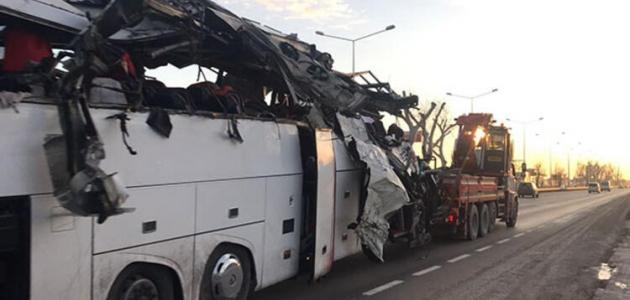 Valilikten otobüs kazalarının önlenmesine ilişkin toplantı sonucu açıklama