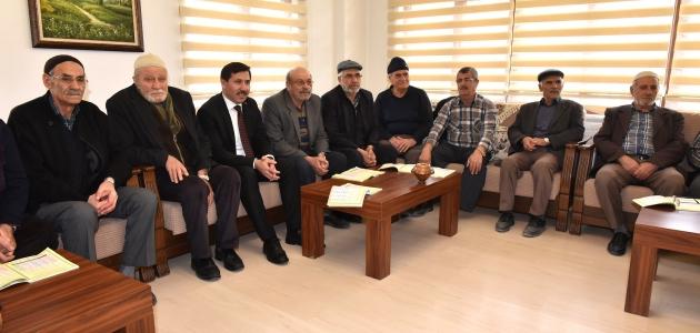 Başkan Hasan Kılca, emekli konaklarında vatandaşlarla buluştu