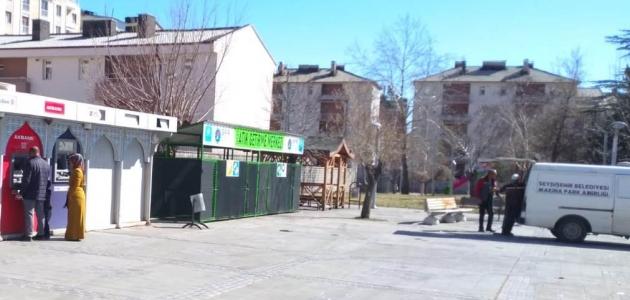Seydişehir Belediyesinden sıfır atık getirme merkezi
