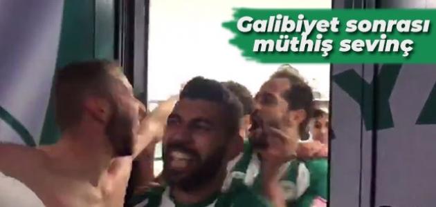 Konyaspor'da Fenerbahçe galibiyeti sonrası müthiş sevinç