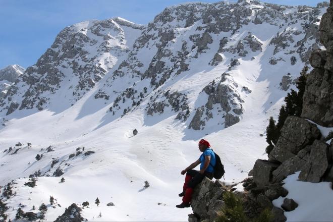 Konya'da kışın geçit vermeyen Reze Beli
