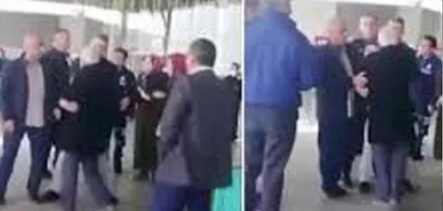 Manisa'da tepki çeken görüntü! O polis görevden uzaklaştırıldı