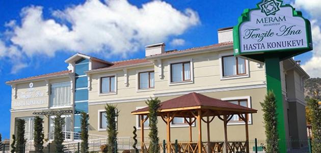 Meram Belediyesi konuk evini sağlık çalışanlarına açtı