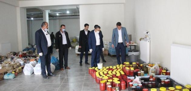 """Başkan Tutal'dan """"Seydişehir Tek Yürek"""" kampanyasına  destek"""