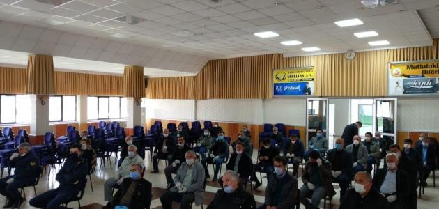 Seydişehir'de çiftçi malları koruma istişare toplantısı yapıldı