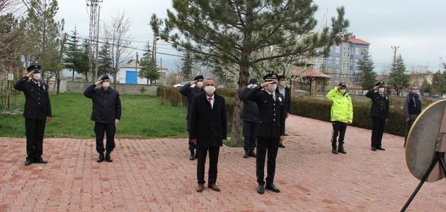 Yalıhüyük'te Türk Polis Teşkilatının 175. yılı etkinlikleri