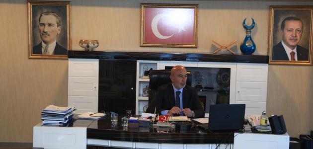 Başkan Angı video konferansla basınla buluştu