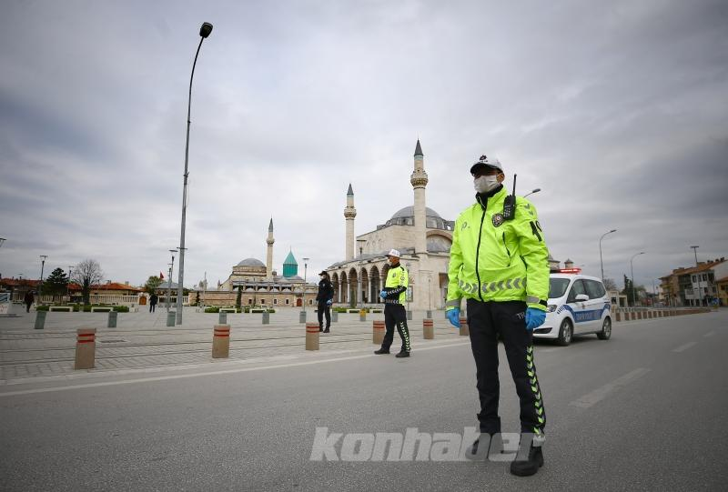 Konya'da sessizlik hakim