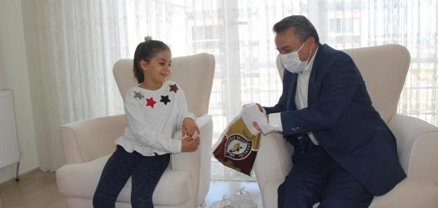Seydişehir Belediyesi evde kalan öğrencileri mutlu etti