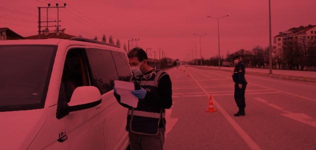 Akşehir'de 101 kişiye 80 bin 800 TL ceza kesildi