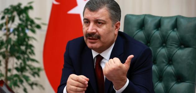 Sağlık Bakanı Fahrettin Koca'dan maske uyarısı