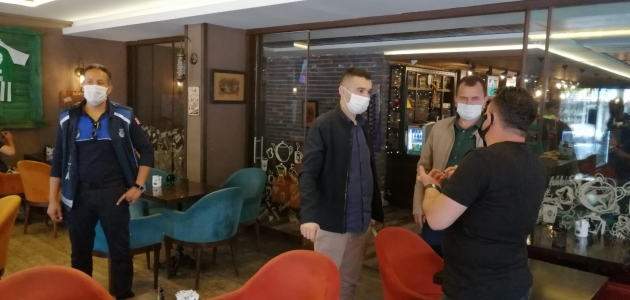 Seydişehir'de normalleşme sürecinde işletmelere denetim