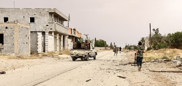 Libya Ordusu, Sirte'nin batısındaki Vişke beldesinde kontrolü sağladı