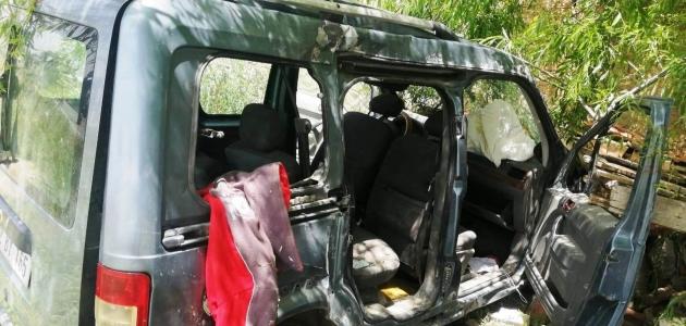 Konya'da ticari araç kontrolden çıktı: 2'si ağır 3 yaralı