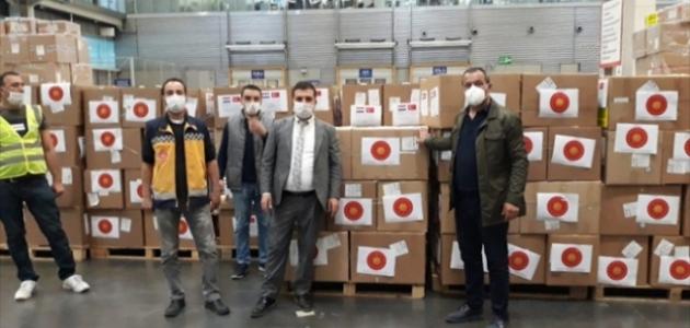 Türkiye'den Paraguay'a yardım eli